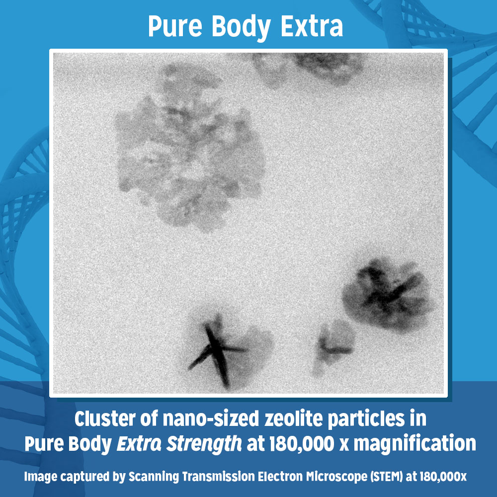 Image captured by Scanning Transmission Electron Microscope (STEM) at 180,000x