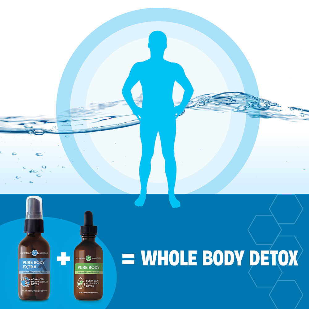 Pure Body and Pure Body Extra Zeolite Detox