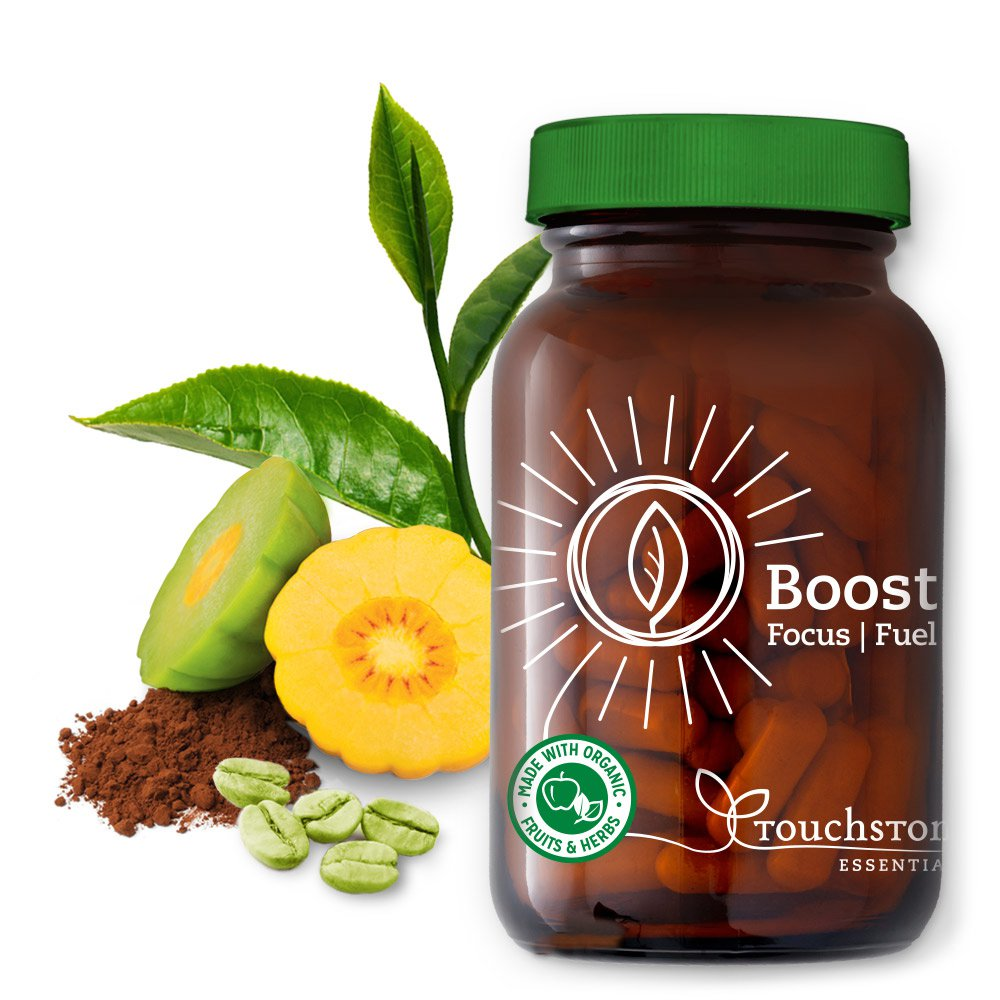 Boost Focus Fuel makes it easier to drop pounds and inches, and feel good while you do it! And it works with any plan or program!