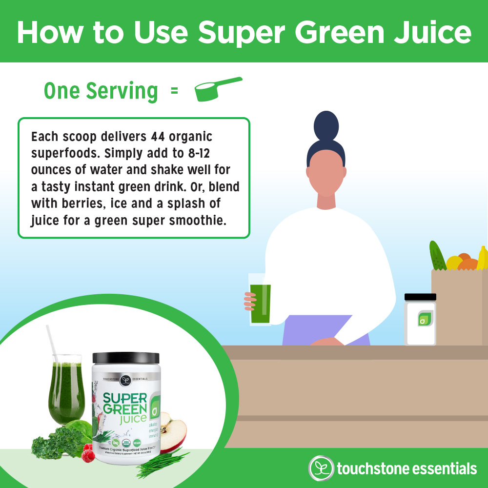 How to use Super Green Juice