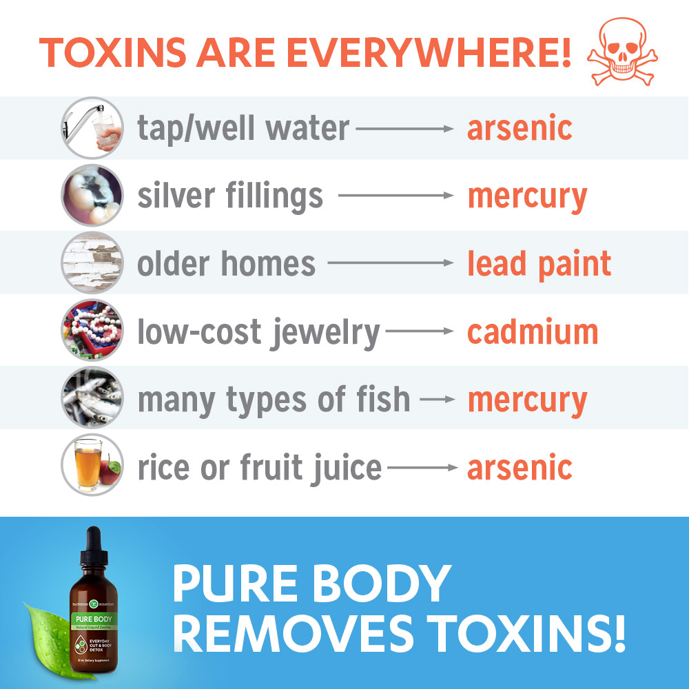 Toxins are Everywhere!