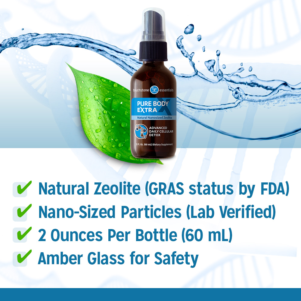 Liquid Zeolite Detox features natural Clinoptilolite and is lab verified.
