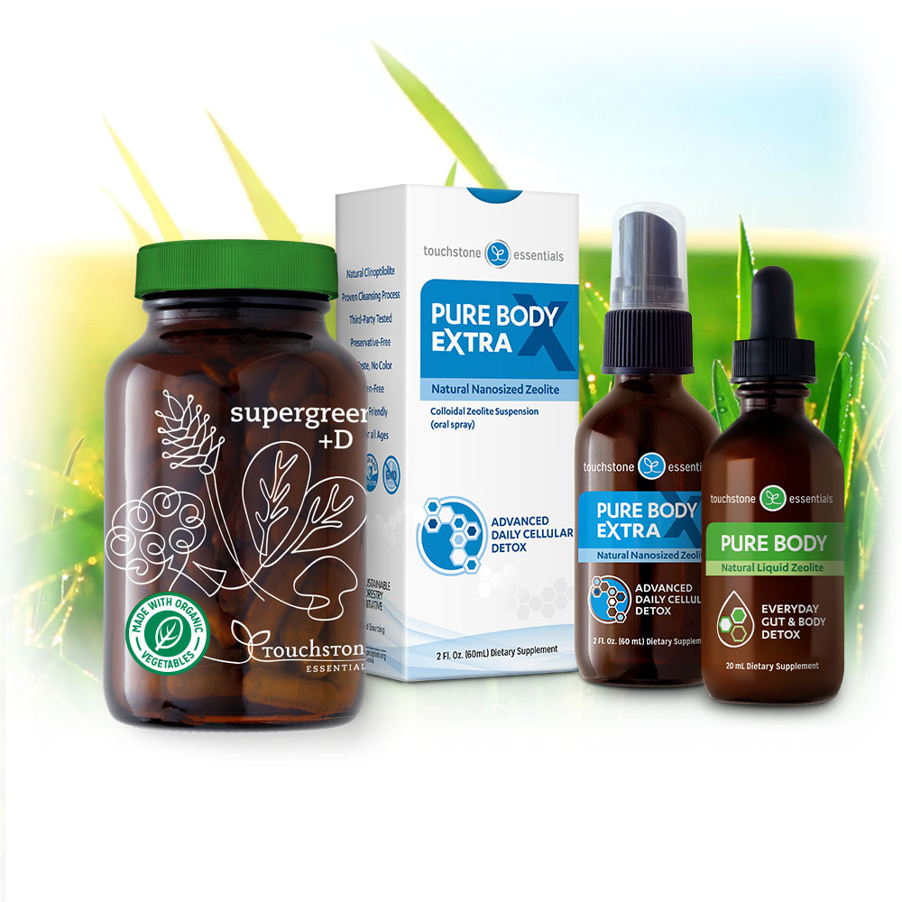 The Detox Super Pack comes with 3 detoxifiers!
