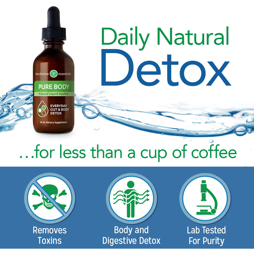 Daily Natural Detox with Pure Body for Less Than a Cup of Coffee