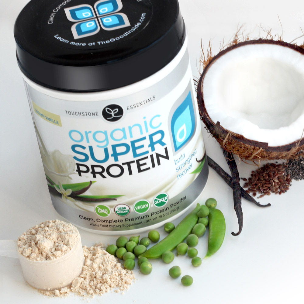 Inside every serving is 18g organic plant protein that is soy free and dairy free, plus organic MCTs and no added sugar