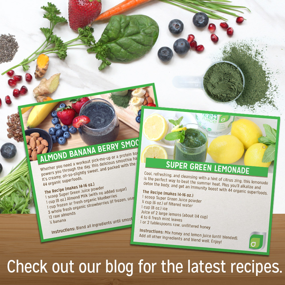 Check Out Our Blog for the Latest Super Green Juice Recipes!