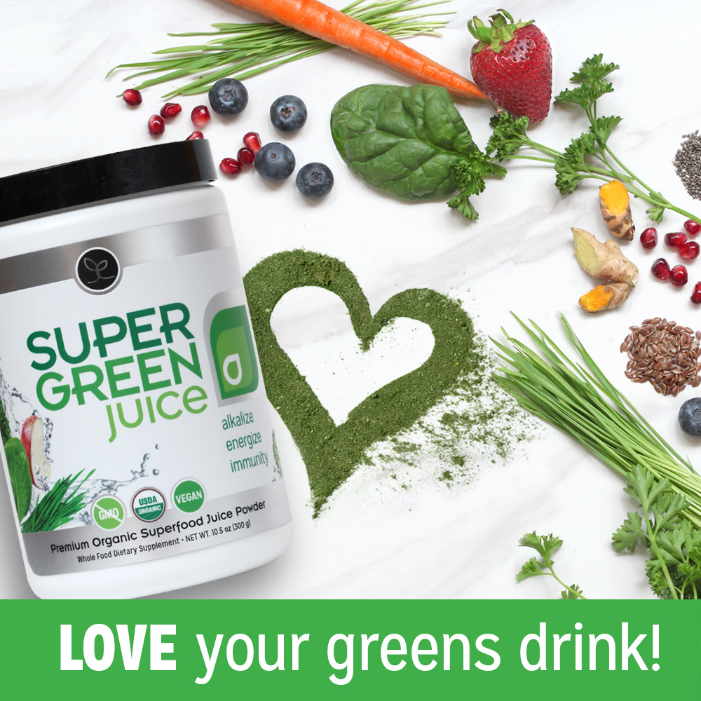With Super Green Juice, You Will Love Your Greens Drink!