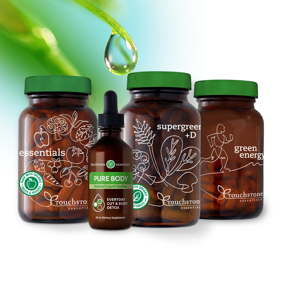 These favorites come together in one pack to support detox, energy, vitality and well-being.