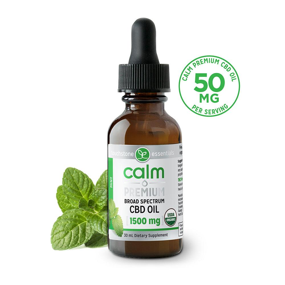 Calm Premium CBD Oil 1500mg (Mint)