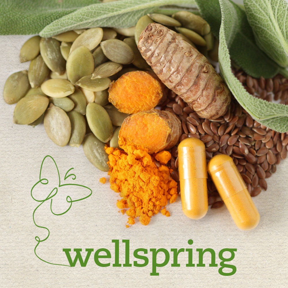 Soothe creaky joints and show your heart some love with Wellspring!