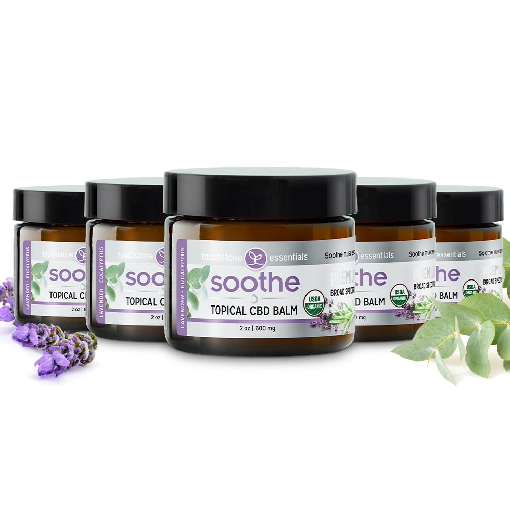 SOOTHE Topical CBD Balm 600mg (5 Pack)