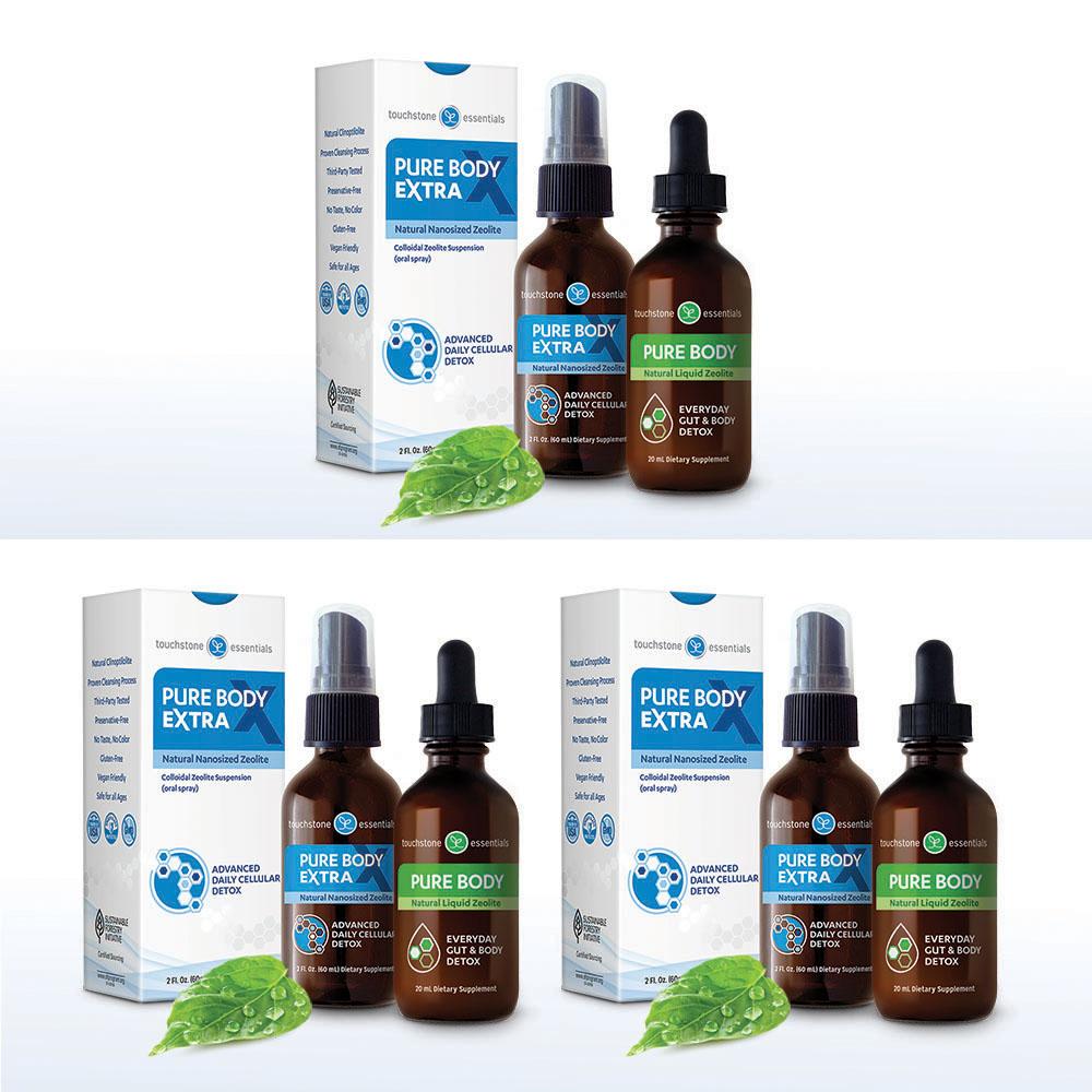Zeolite Detox Pack 3-Pack