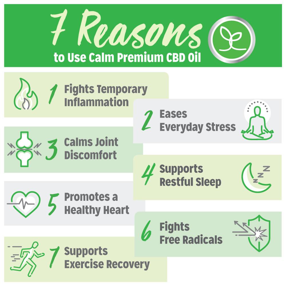 7 Reasons to Take Calm CBD Oil