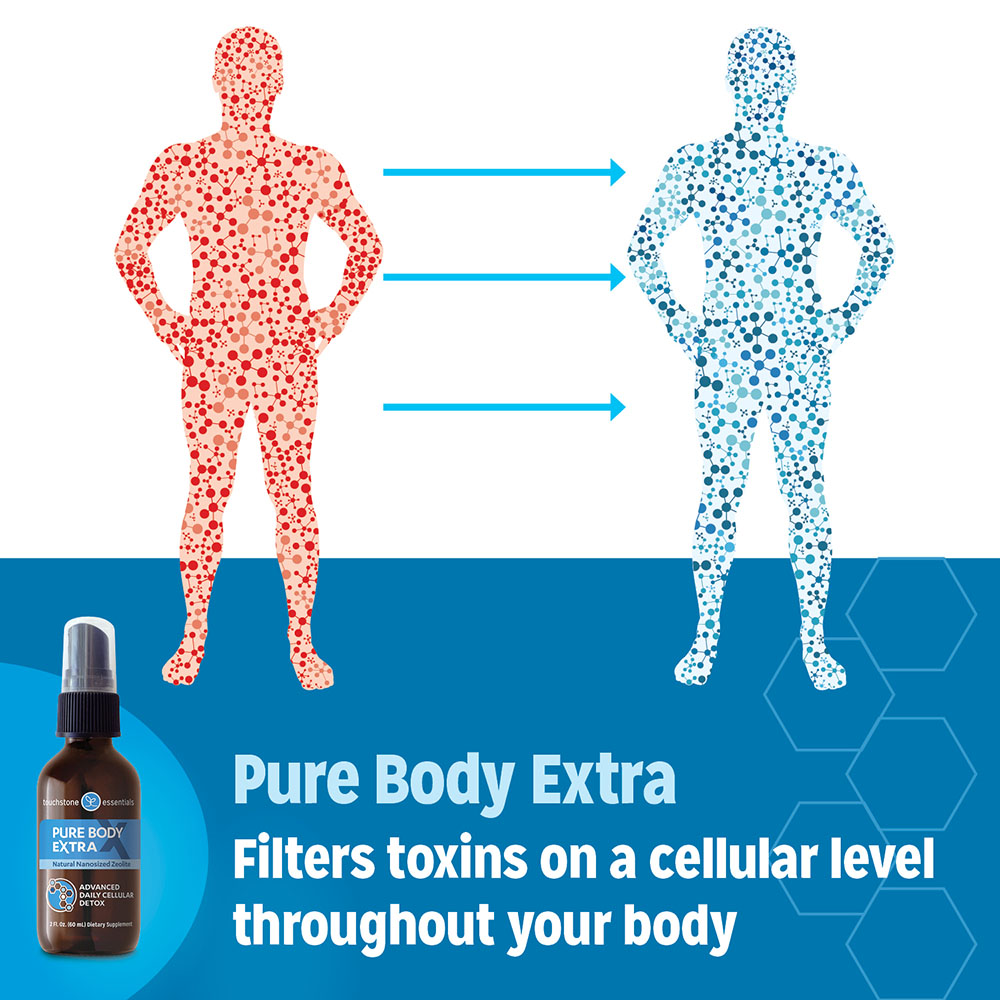 Pure Body Extra Zeolite Cellular Detox