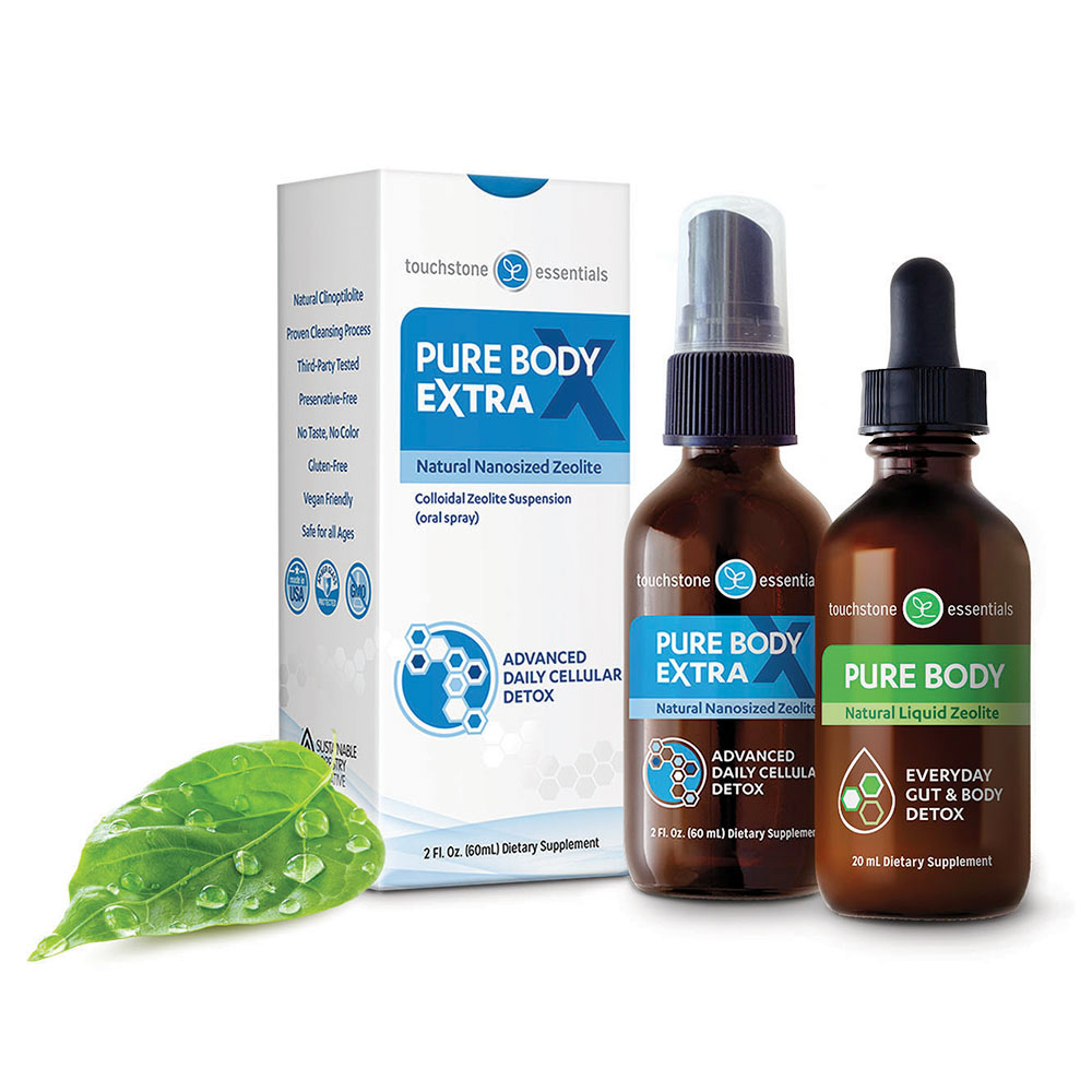 Zeolite for a Whole Body Detox with Pure Body and Pure Body Extra