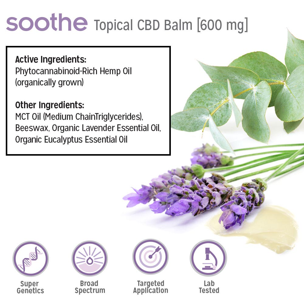 Soothe Supplement Facts