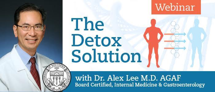 Detox Solution with Dr Alex Lee