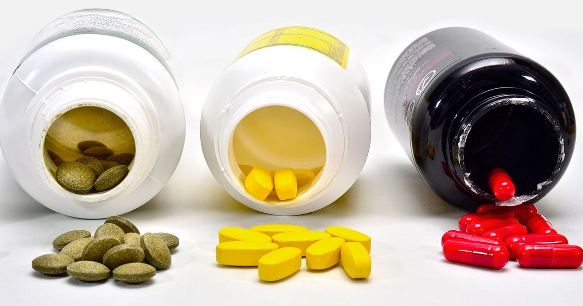 3 Bottles of GMO Vitamins