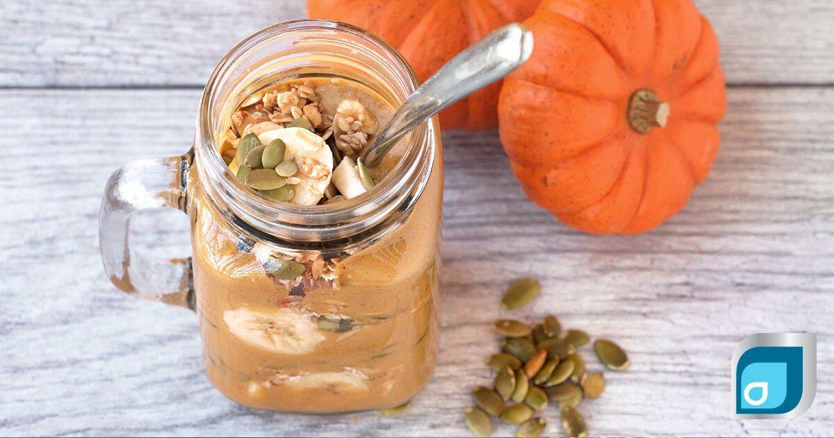 Pumpkin Pie Smoothie Jar