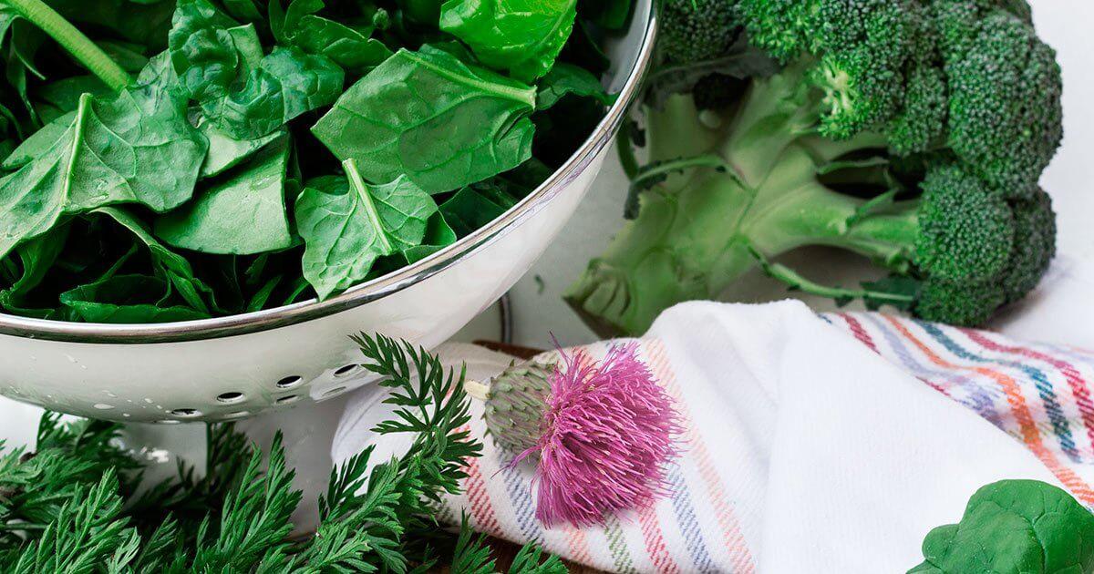 Detoxifying Green Vegetables