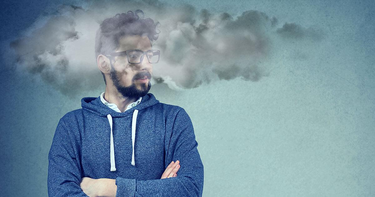 Man With Brain Fog