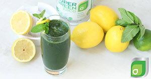 Super Green Lemonade