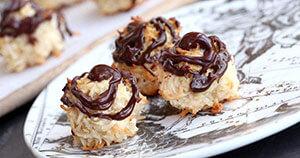 Chocolate Glazed CBD Macaroons