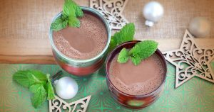 Calming CBD Minty Hot Chocolate