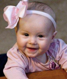Baby Marin (one of Vicki's healthy grandchildren)